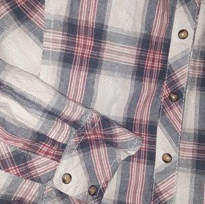 Long Sleeve Snap Western Shirt